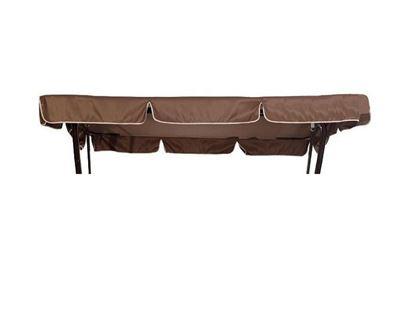 Изображение Тент крыша для качелей Родео (коричневый)