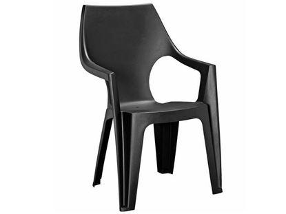 Изображение Пластиковый стул Dante Low Back Графит