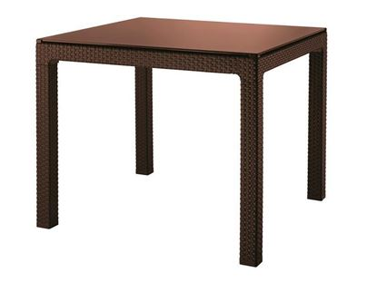 Изображение Стол со стеклом KETER SUMATRA TABLE (Суматра)