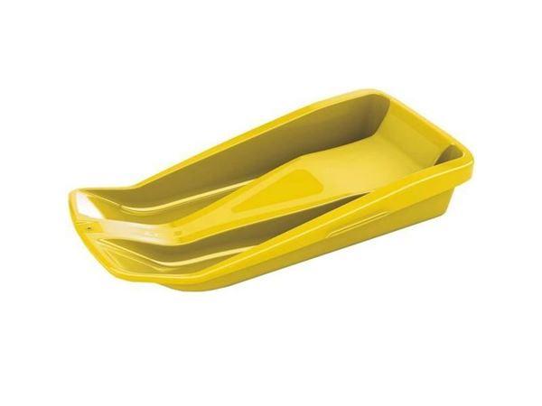 Изображение Санки-снеголет Leco 80х30 см желтые гп15822