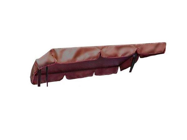 Изображение Тент крыша для качелей Родео (бордовый)
