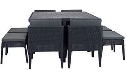 Набор мебели Columbia dining set 9